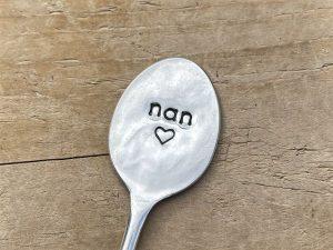 Silver Plate Nan Bookmark
