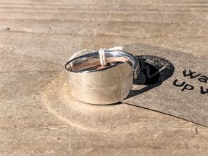 Sterling Silver Teaspoon Handle Ring By Stephen Adams