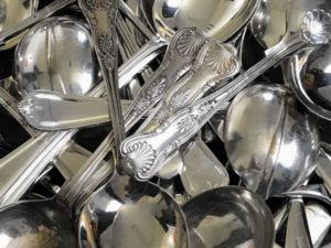 Silver Plated Soup Spoon