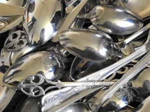 Silver Plated Teaspoon