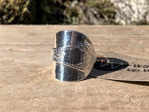 Sterling Silver Glasgow 1894 Demitasse Spoon Ring