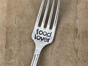 Silver Plate Food Lover Fork