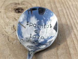 Silver Plate Spoonful Of Love Soup Spoon