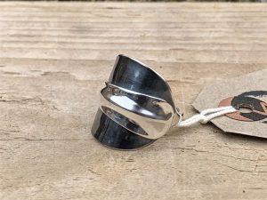 Sterling Silver Sheffield 1930 Demitasse Spoon Ring