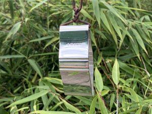 Sterling Silver Sheffield 2001 Napkin Ring Pendant