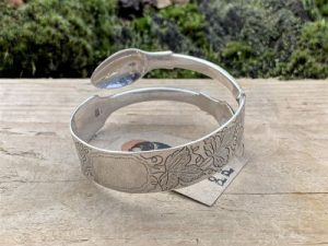 Sterling Silver London 1841 Sugartong Bangle