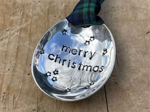 Soup Spoon Merry Christmas Bauble
