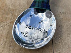 Soup Spoon Bowl Scrooge Bauble