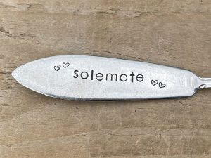 Silver Plate Solemate Knife